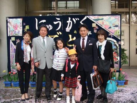 日鞠の入学式♪
