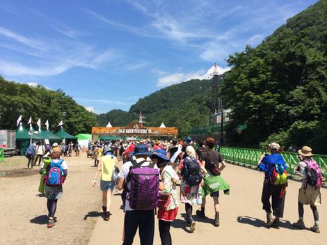 Fuji Rock Festival当日♪