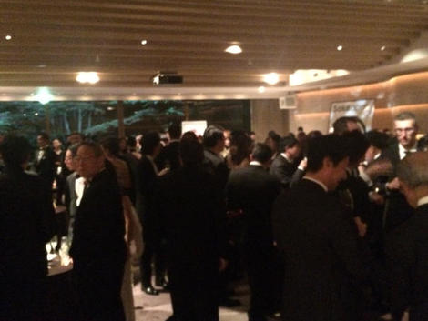 ICCJ GALA dinner party