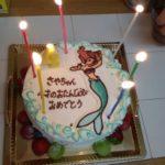 アリエルのケーキ