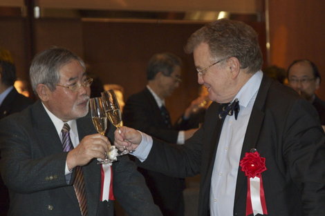 IPSG20th anniversary, Prof.Dr.H.Weber Welcome Party