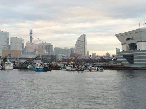 年末は横浜へ