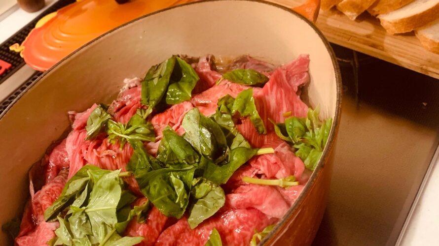 イタリアンすき焼き
